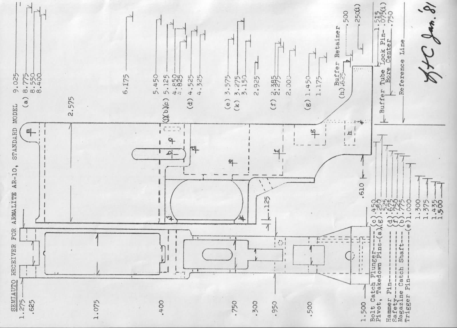 billet ar 15 lower dimensions bing images ar lower receiver ar pistol  [ 1600 x 1151 Pixel ]