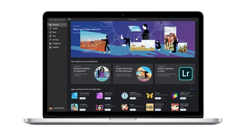 Adobe Lightroom Lands on the New Mac App Store Mac app