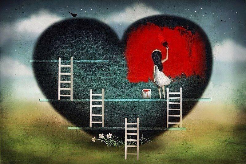 No me olvido de amar....cada día amar...❤️