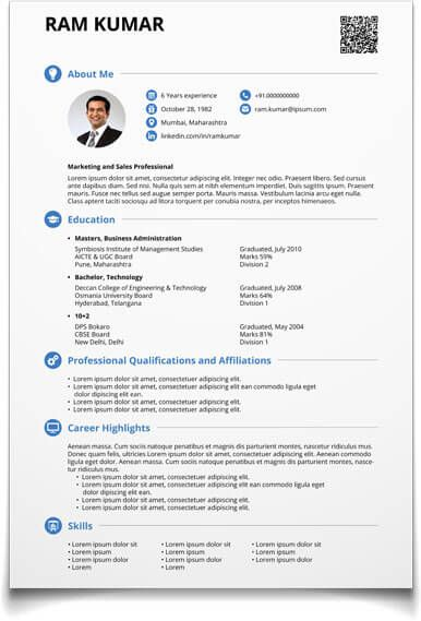 shriresume | sonu | Pinterest | Free resume maker, Resume maker and ...
