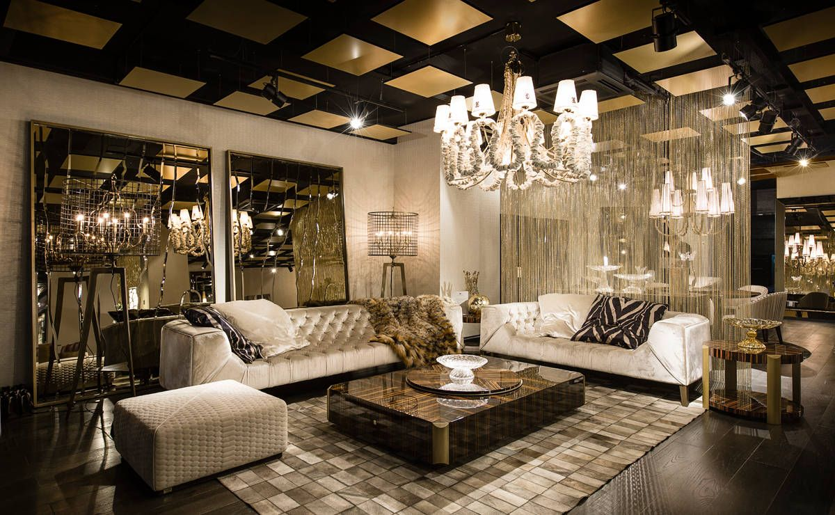 The new showroom of Roberto Cavalli Home Interiors in London ...