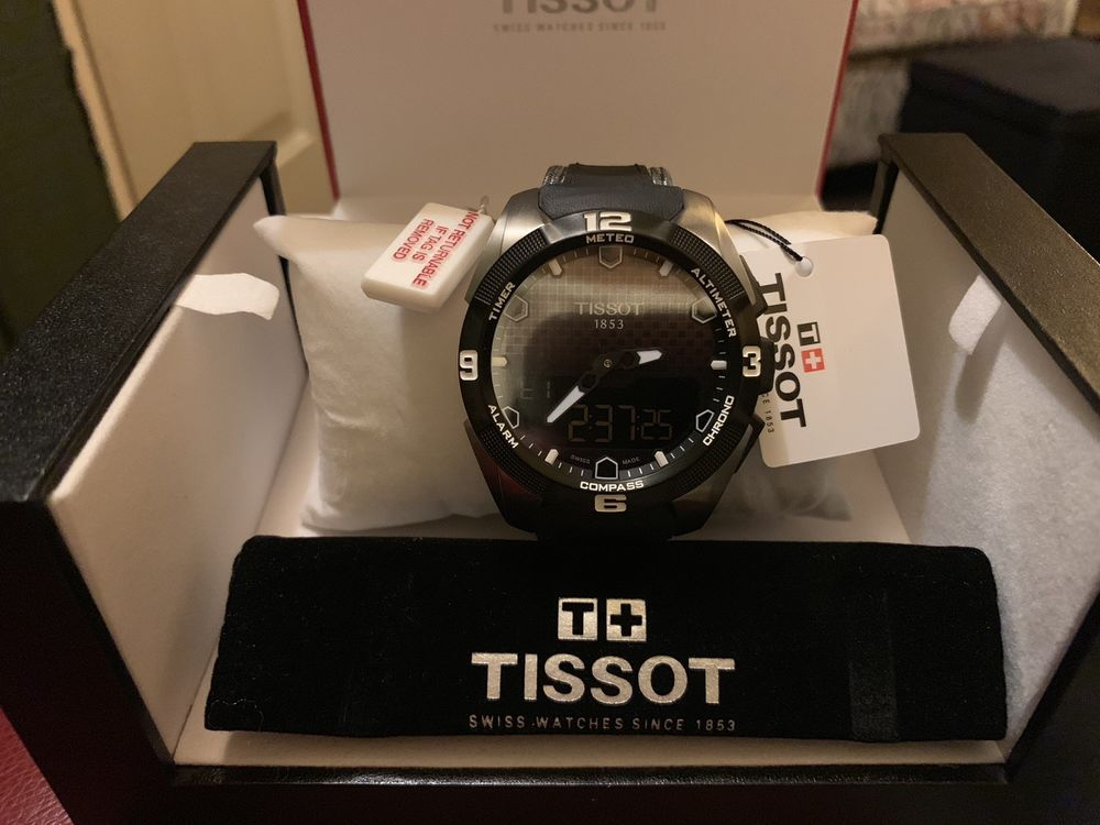bae45ae1946 TISSOT T TOUCH EXPERT SOLAR MULTIFUNCTION WATCH T0914204605101  1150 RETAIL