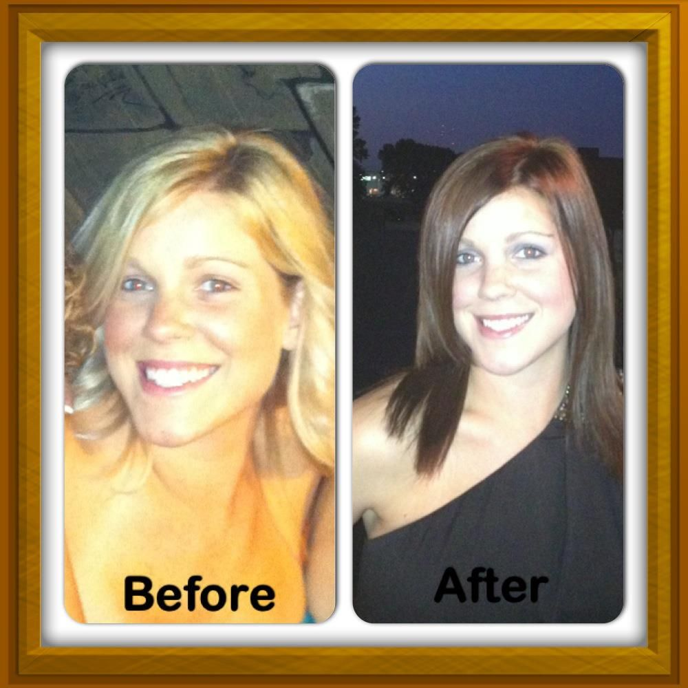 Katie Was Back Filled With Kenra Color 8cg Demi Permanent After Dried To 70 5b Used For Her Foundation 6b The Anchor