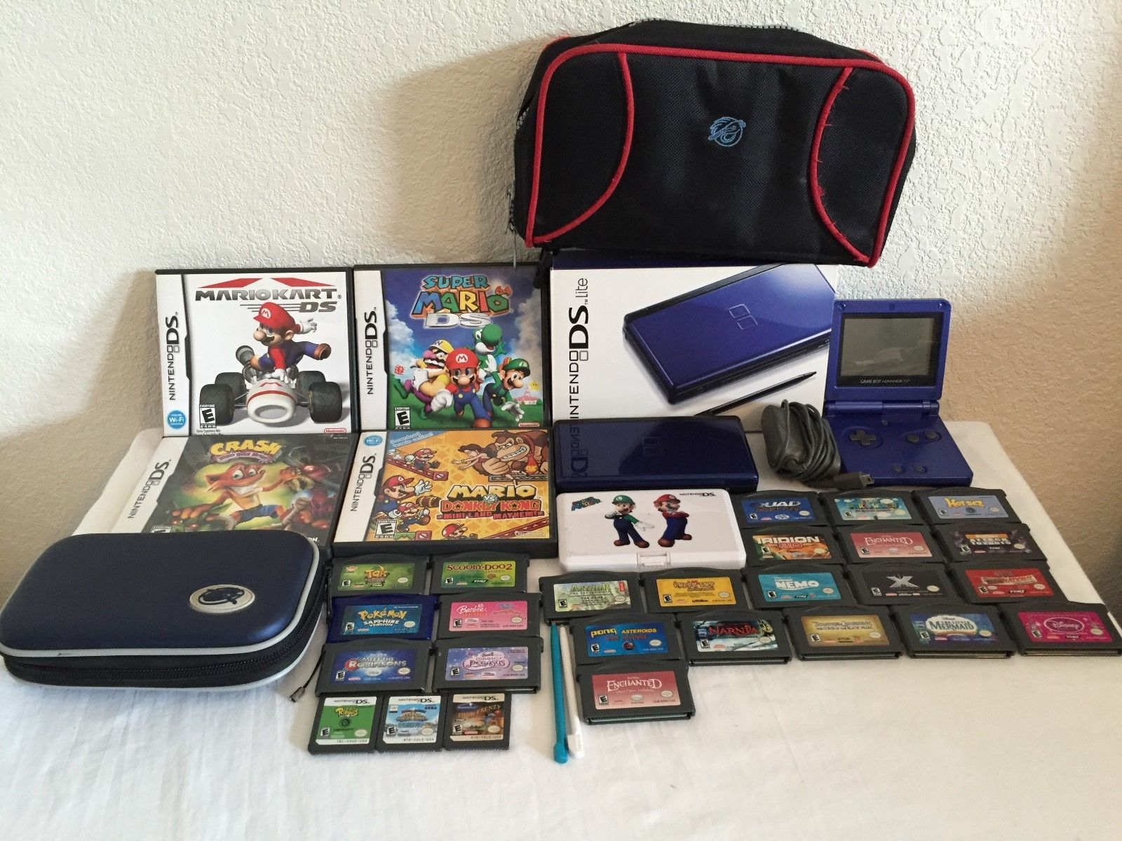 Nintendo DS Lite Bundle  Game Boy Advance SP 31 Games  https://t.co/DEGGq7lqjb https://t.co/OCzjwdFhQE