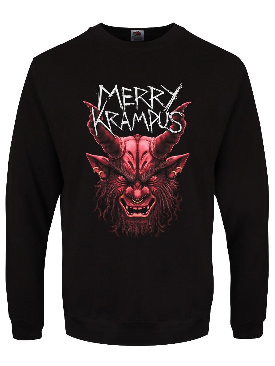 Merry Krampus Black Christmas Jumper in 2020 Black