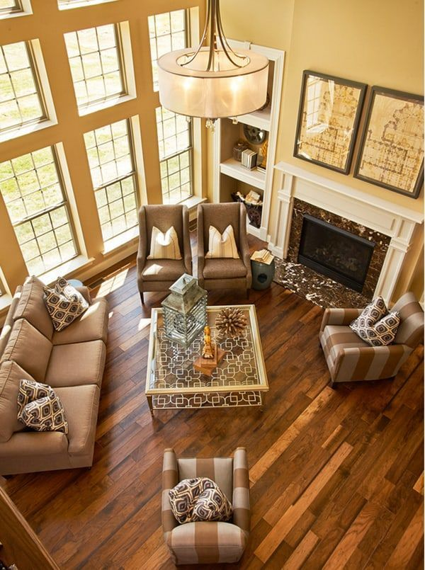 43 Cozy and warm color schemes for your living room images