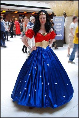 Wonder Woman Bridesmaid Dress