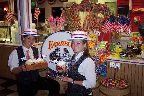 4e4136e09 Birthday parties at Farrell s Ice Cream Parlour. Rock candy