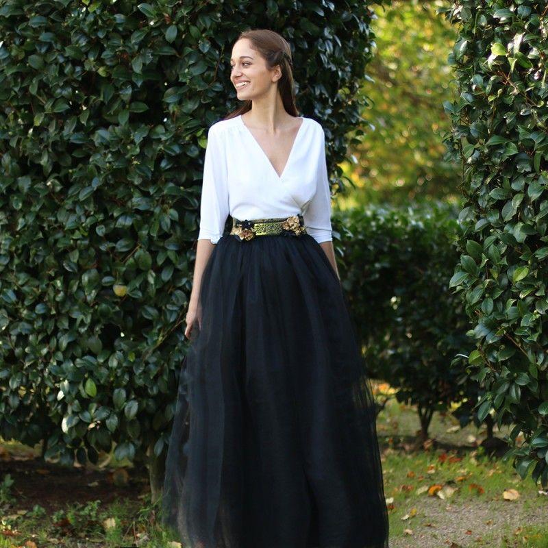 Preciosa falda 100% artesanal 76cc1e2ba418