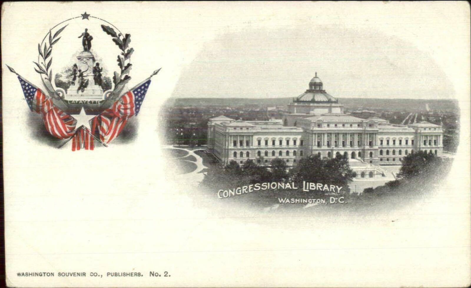 Washington DC Congress LIbrary Arthur Livingston 1890s