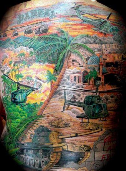 Military Tattoos - tattoos-and-art.com