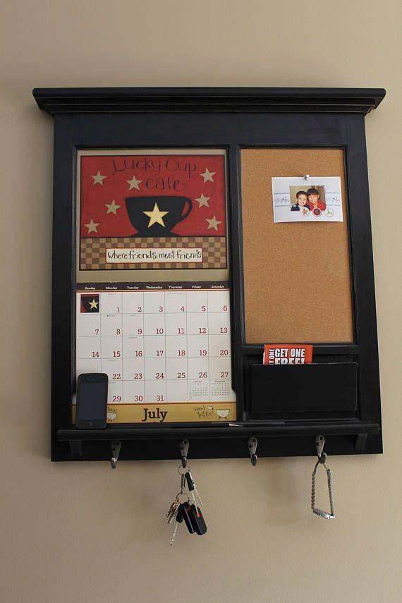 Wall Calendar Frame Front Loading Home Decor Framed Furniture Mail ...