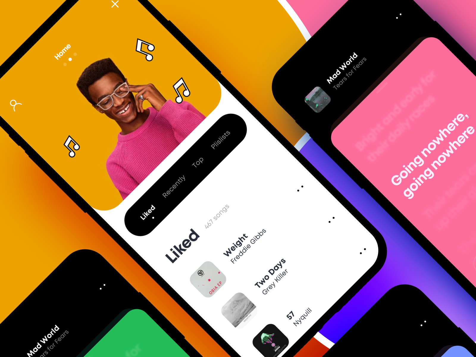 Song Lyrics App Design App design, Lyrics, Songs