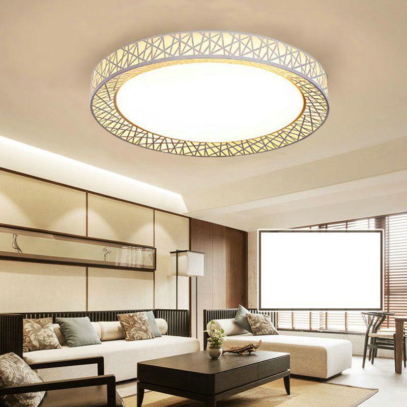 Led Deckenleuchte Modern Nest Design Im Wohnzimmer Zu Gunstigen