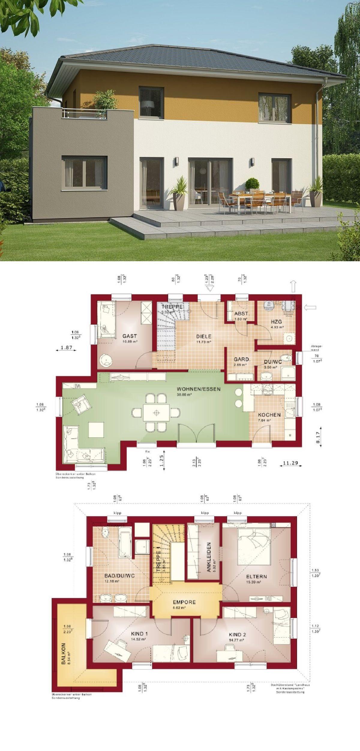Blickfang Haus Anbau Das Beste Von Stadtvilla Modern Mit Walmdach Und Erker -