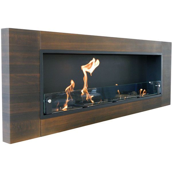 Nu Flame Finstera Quattro 4 Burner Wall Mounted Ethanol Fireplace Nf W4fiq