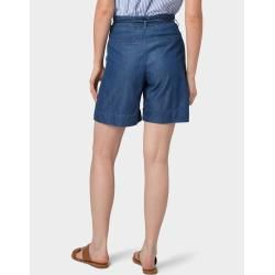 Photo of Tom Tailor Women's Loose Fit Bermuda Shorts, blue, plain, size 44 Tom TailorTom Tailor