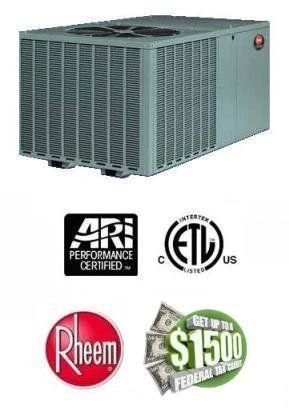 2 Ton 14 Seer Rheem Package Heat Pump Rqpma024jk000 By Rheem 2259 00 Single Heating And Air Conditioning Air Conditioning Unit Air Conditioner Accessories