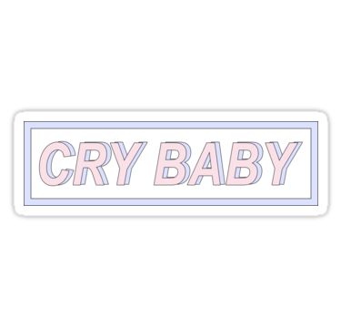Also Buy This Artwork On Stickers Apparel And Home Decor Baby Stickers Cry Baby Stickers