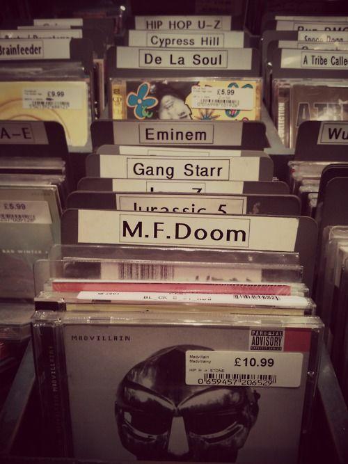 MF Doom, Gang Starr, De La Soul..