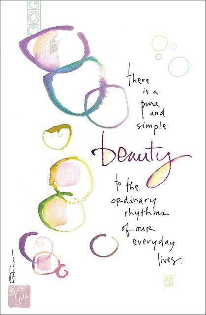 Kathy Davis Dose of Inspiration: Everyday Beauty