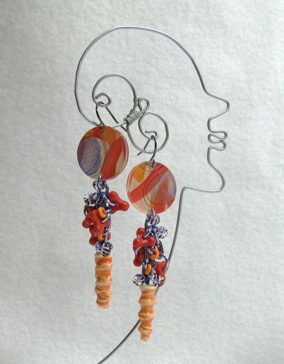 Miss Marsh Earrings by droolworthy on Etsy