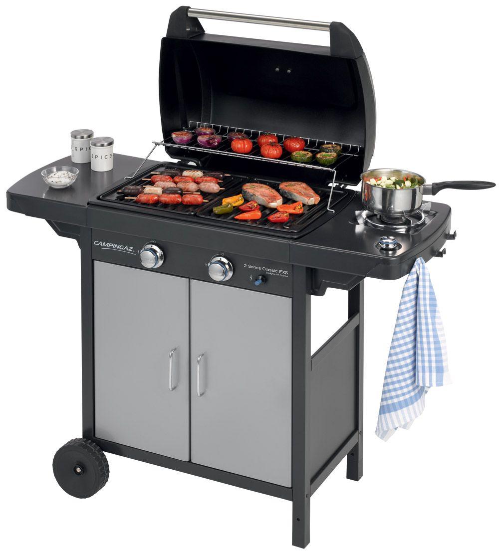 Campingaz 2 Series Classic Exs Vario Electrostudio Gas Bbq Campingaz Barbecue Gas