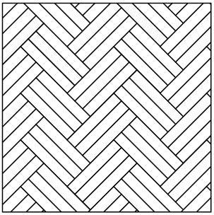 Art Weave Pattern Drawing