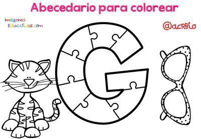 Imagenes Educativas Abecedario Para Colorear