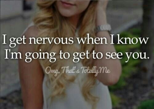 ❤that's why I never come to u or across u because when I see u....I get a blush