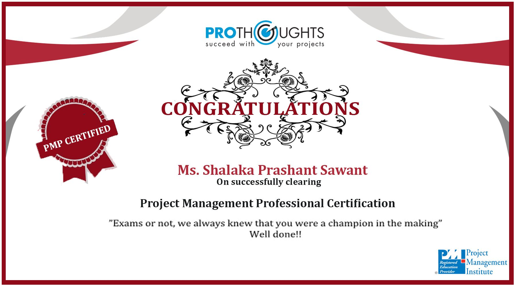 Pmpcertified Pmi Project Projectmanagement Mumbai Success