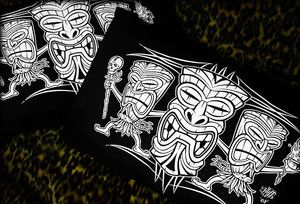 Hells Blankets  Tiki Terror Pillowcase Set $29.95