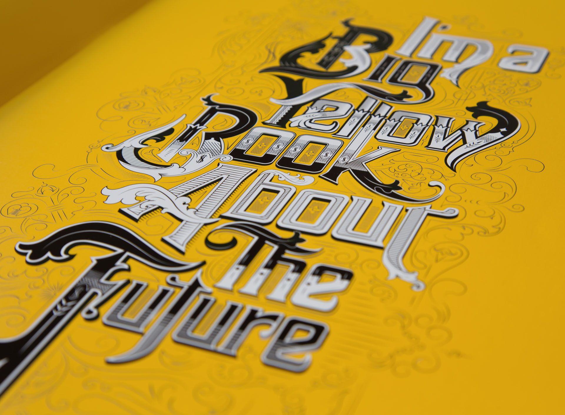 ASB - Book design, graphic design, typography, custom, CGI, pop up.