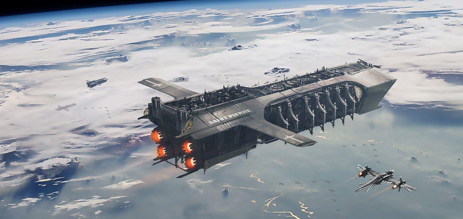 Naves Espaciales Por Julien Gauthier
