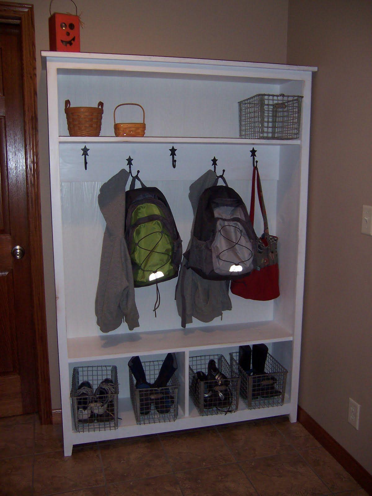 Garage Storage...Ana White | Build A Locker Cabinet For Fresh Home Magazine