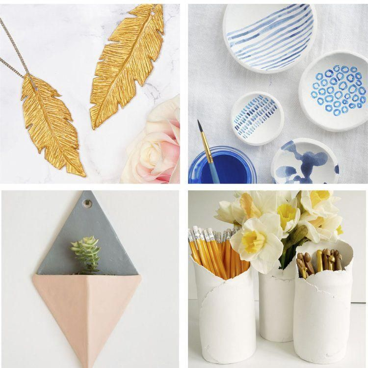 7 Air Dry Clay Craft Ideas Hobbiesforadults Hobbies For Adults