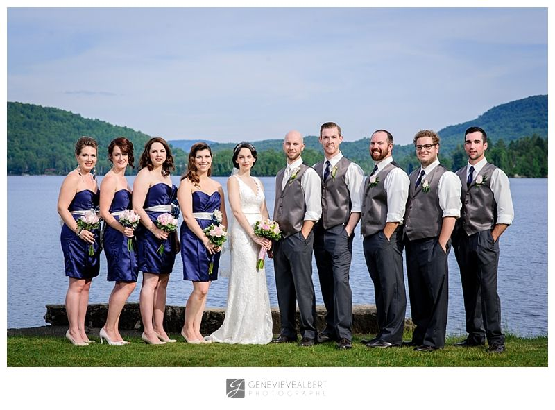 Mariage/ Wedding � Grand Lodge Mont-Tremblant � Marie-Andr�e and Ray