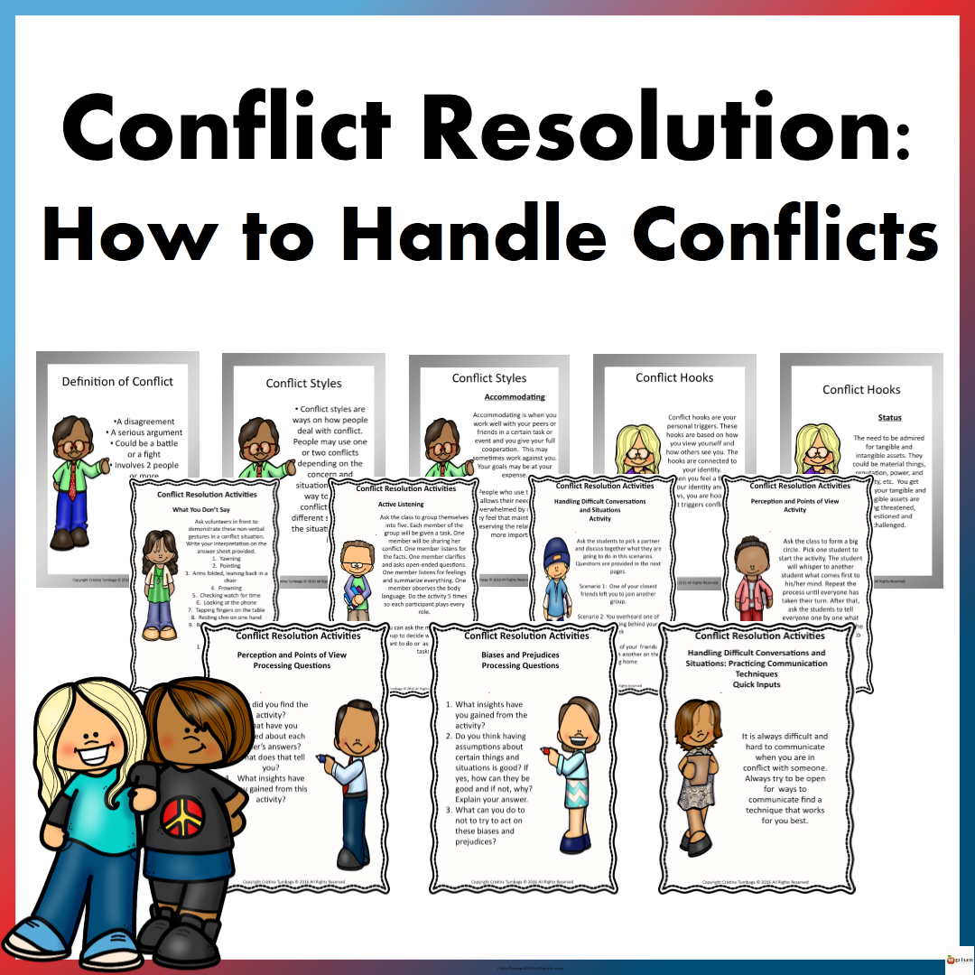 Conflict Resolution How To Handle Conflicts Distance