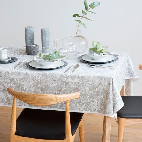 Printed Cotton Tablecloth Tablecloths Napkins Tableware Zara Home United States Stolovaya Skaterti Salfetki