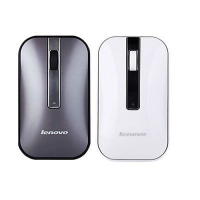 LENOVO N60 Wireless Mouse with 2.4GHz Wireless Office Mouse Grey 1000DPI Mice