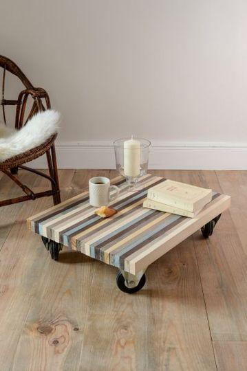 diy deco pas cher construire une table basse avec des. Black Bedroom Furniture Sets. Home Design Ideas