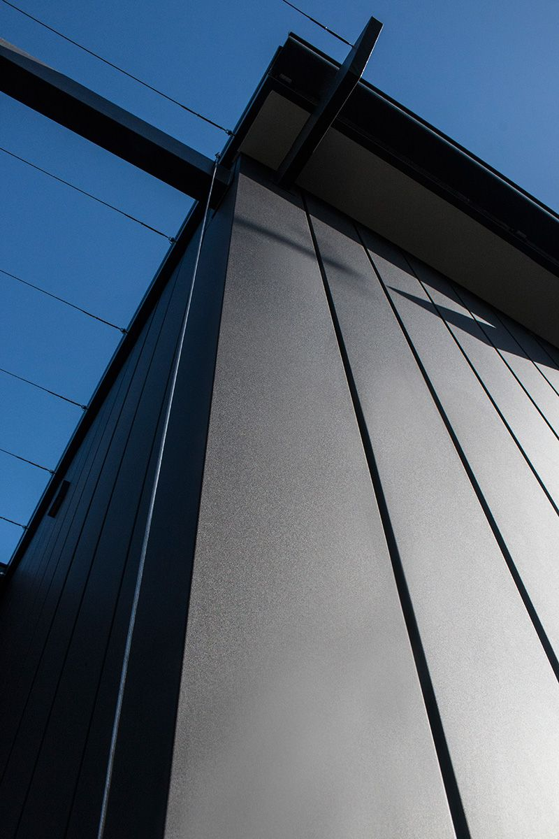 Jenkins Street Features Matt Colorbond Interlocking Cladding