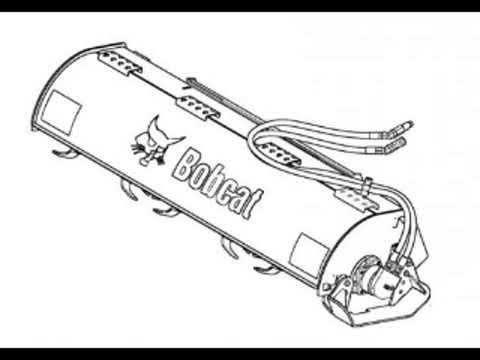 Bobcat 76 Tiller Workshop Service Repair Owner's Manual S