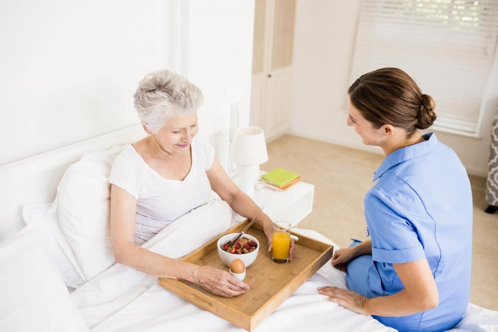 Professional Medical And Personal Caregivers In The Comfort And