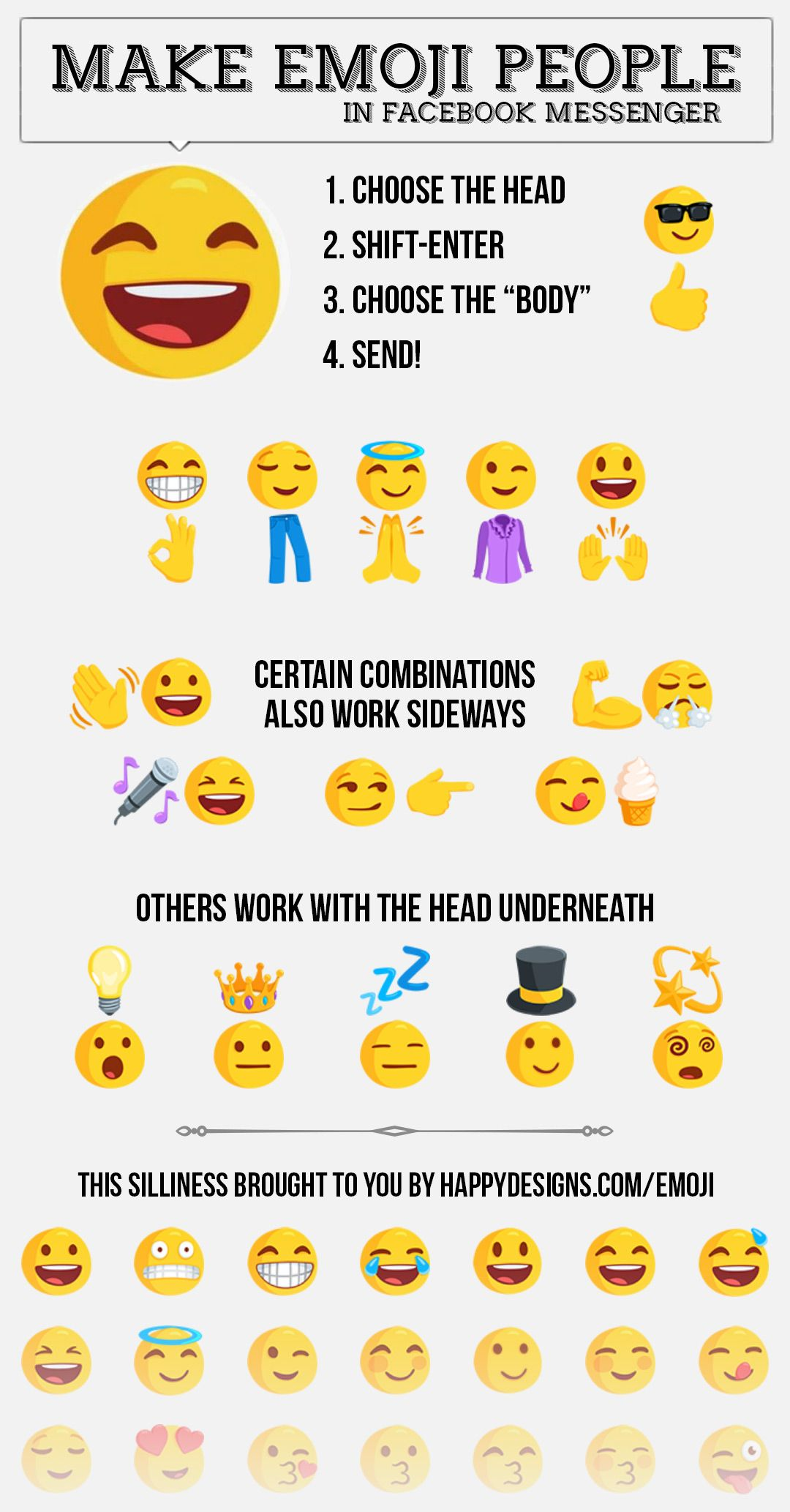 Make Emoji People Emoji Emoji People Make Emoji