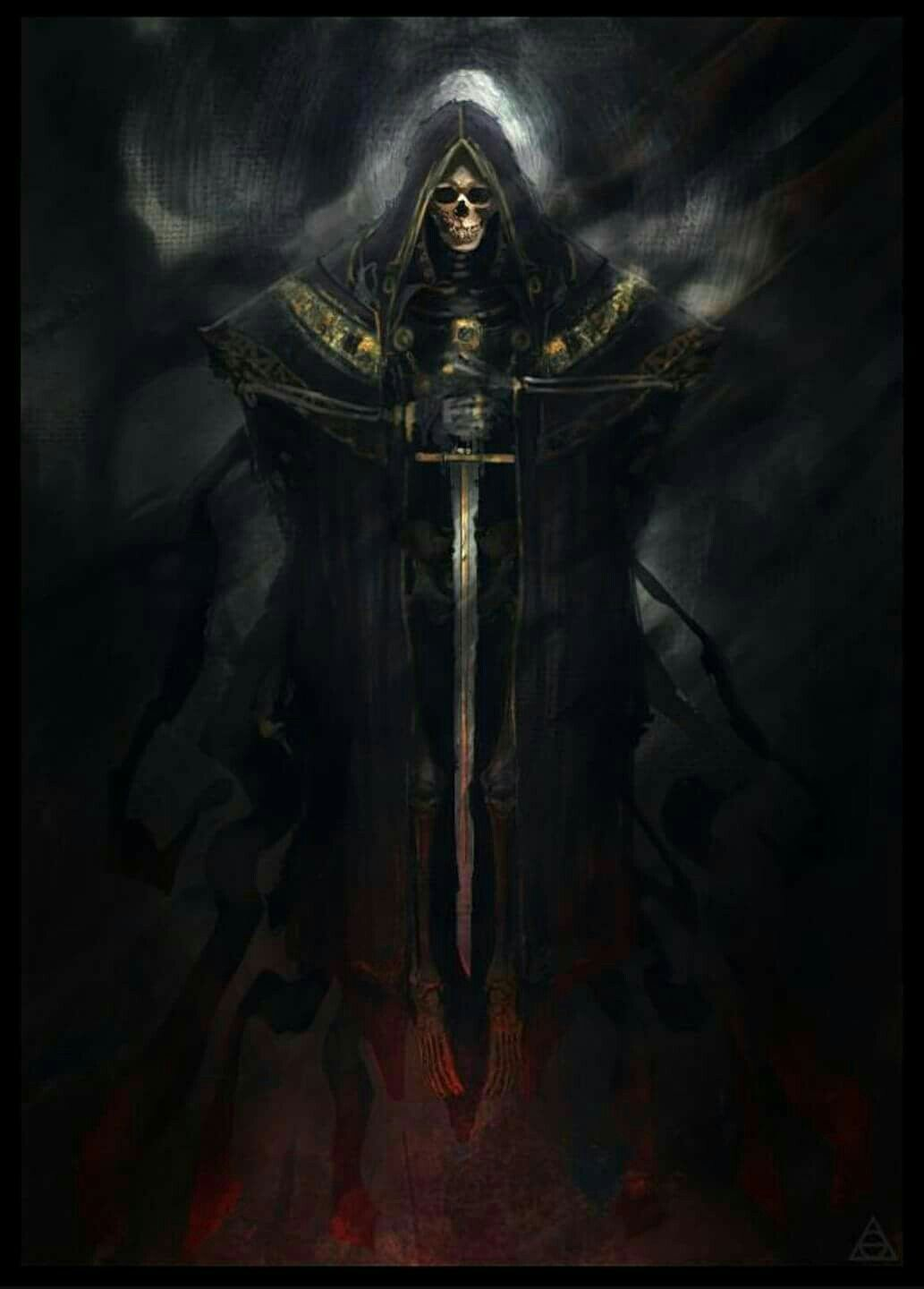 Image result for grim reaper with sword | RPG Monster Manual in 2019