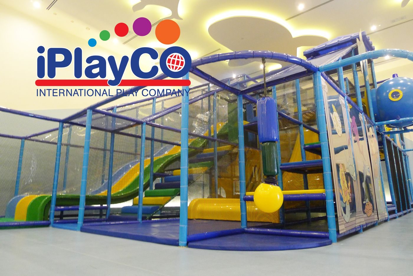 Indoor Commercial Play Structures for children of all ages