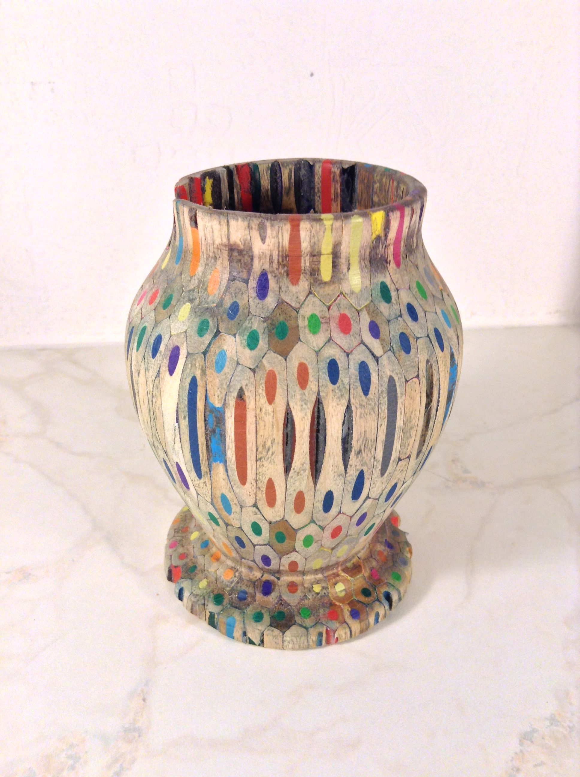Wood turned colored pencil vase wood colored pencils ansbach wood turned colored pencil vase wood colored pencils ansbach artisans reviewsmspy