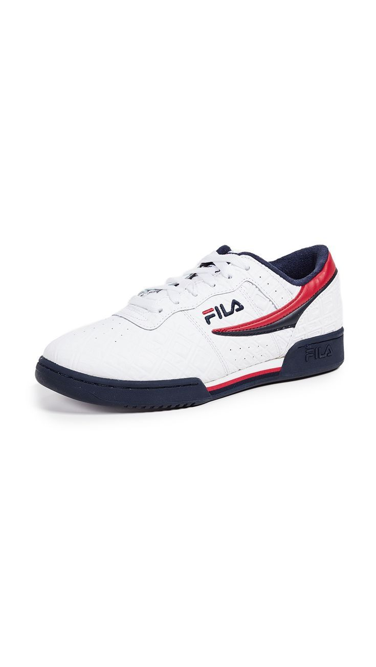 FILA ORIGINAL FITNESS SMALL F BOX SNEAKERS. #fila #shoes, #box #designerSneakers #Fila #fitness #ORI...
