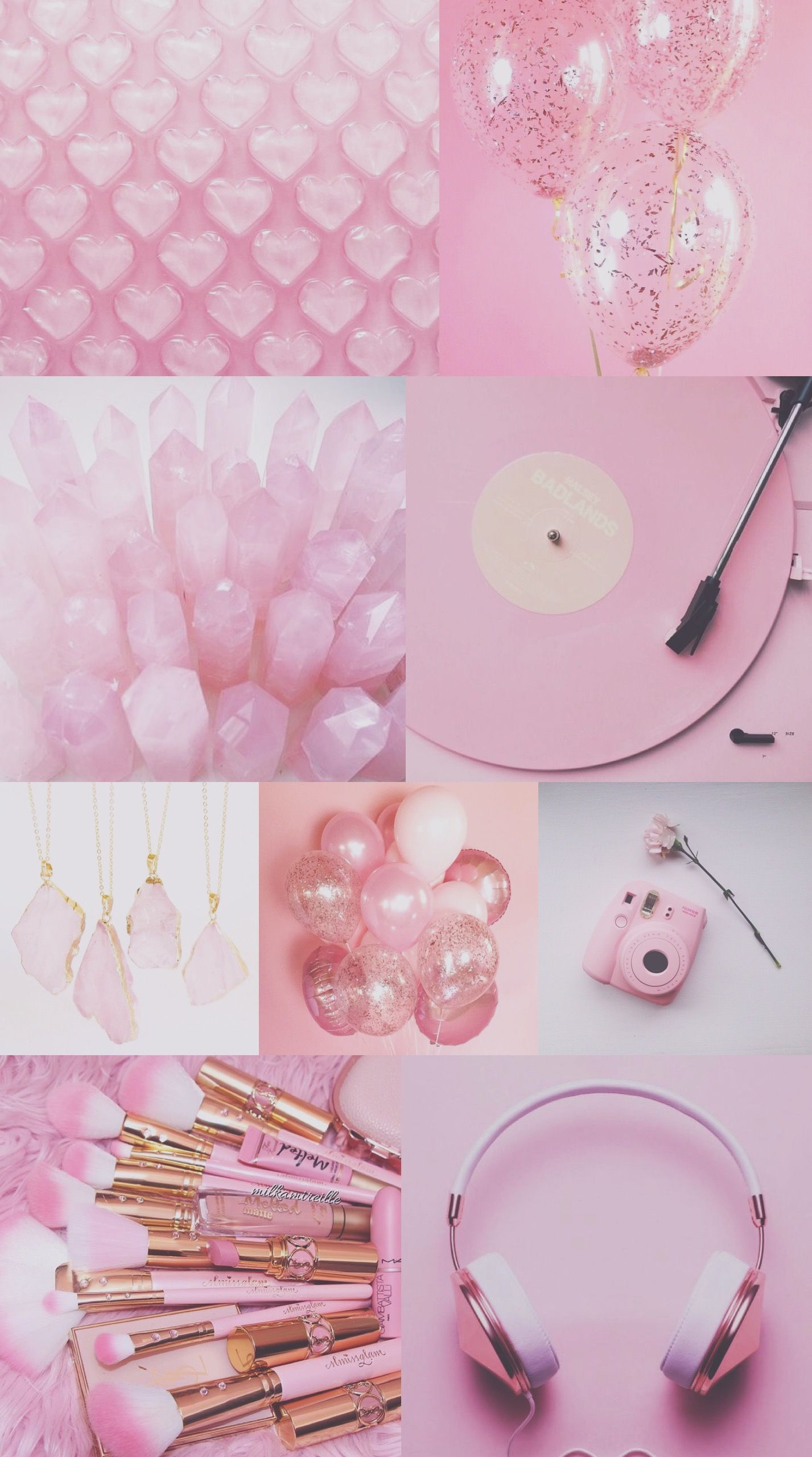 Wallpaper iphone android background glitter pink - Pastel pink wallpaper hd ...